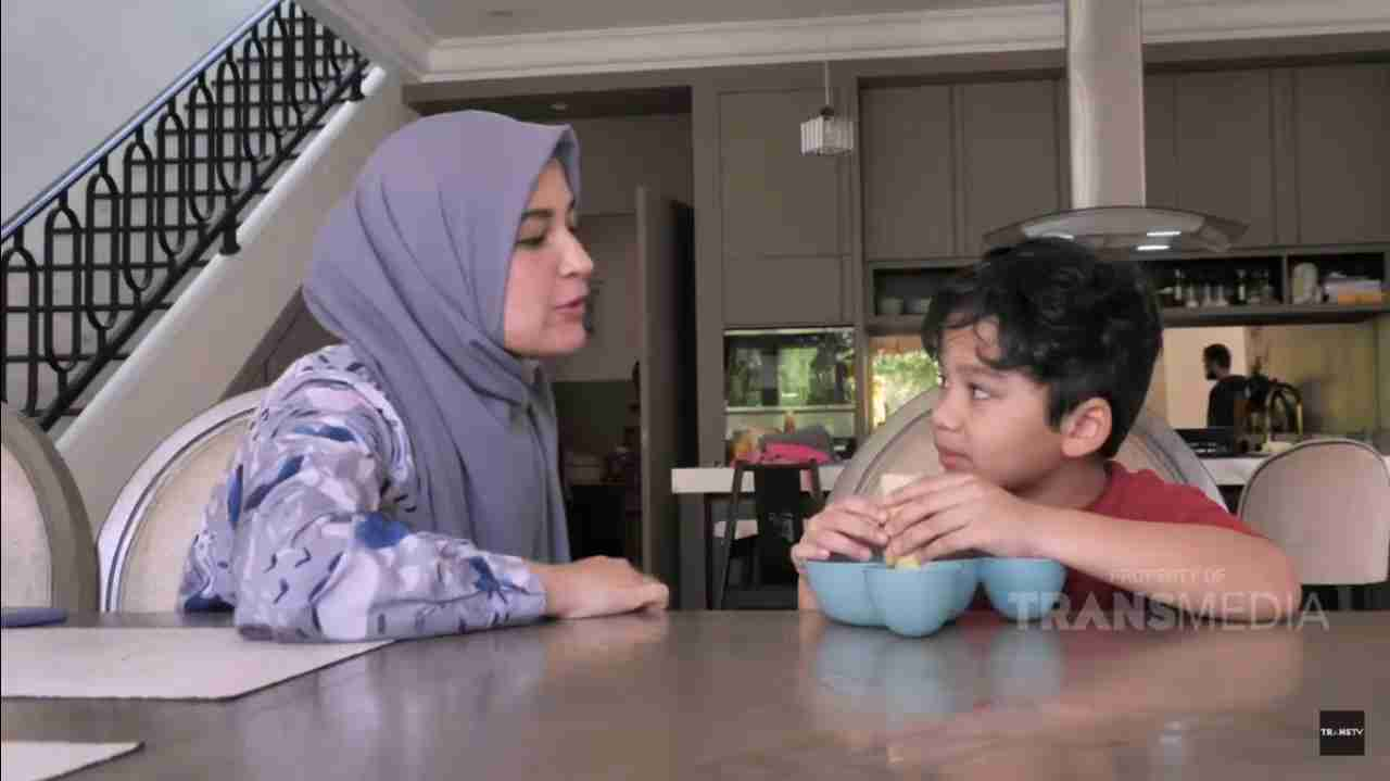 trans tv ibu pintar shireen sungkar buat kue